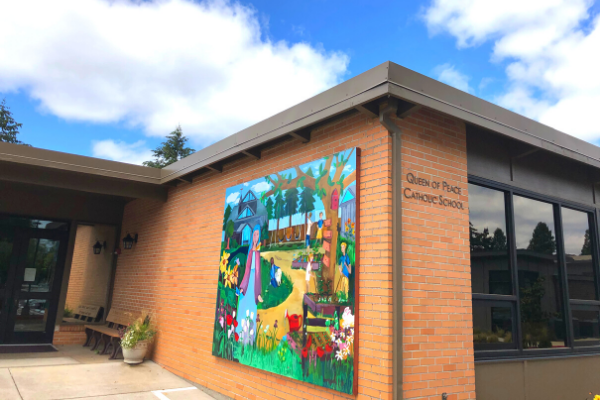 QP School Mural